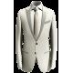 Einfarbige Anzüge im Smoking Stil