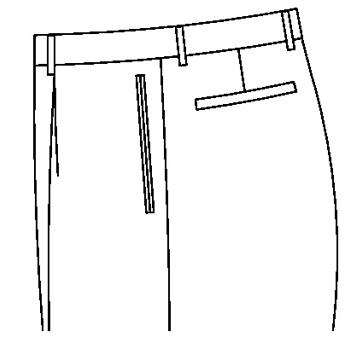 3131 - Paspeltaschen