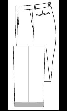 3602 - 3,2cm Hosenaufschlag