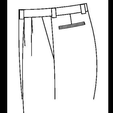 33D1 - 3,8cm breite Gürtelschlaufen