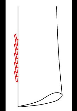 0628 - 5 Übereinanderliegende Knöpfe (Kissing Button)