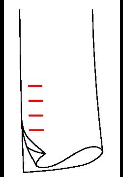 0612 - Echter Schlitz & echte Knopflöcher