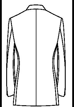04N0 - Ohne Rückenschlitz ( Standard )