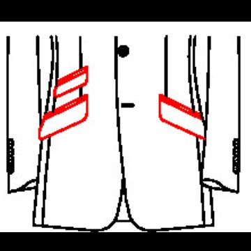 02A2 - Schräge Taschen mit schräger Tickettasche