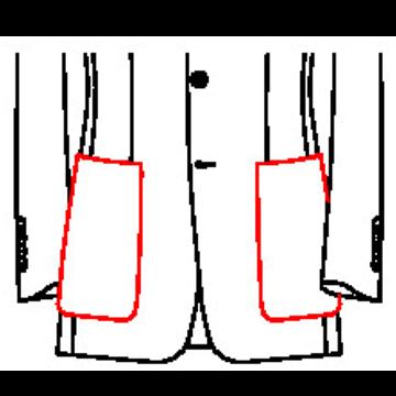 02J1 - Aufgesetzte Taschen