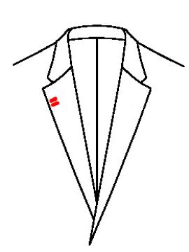 0546 - 2 Knopflöcher rechts