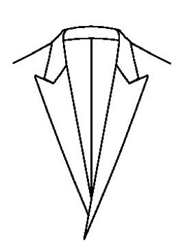 0544 - Ohne Reversknopfloch