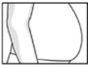 Beleibter Bauch