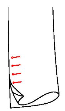 6612 - Echter Schlitz , echte Knopflöcher