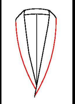 6005 - Schalkragen