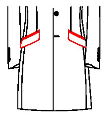 62A1 - Schräge Pattentaschen