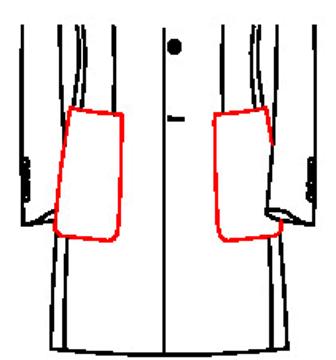 62J1 - Aufgesetzte Taschen