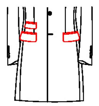 6202 - Pattentaschen mit Tickettasche