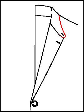 0682 - Spitzer Sportkragen B