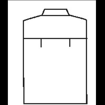 5141 - Zwei seitliche Bewegungsfalten ( Standard )