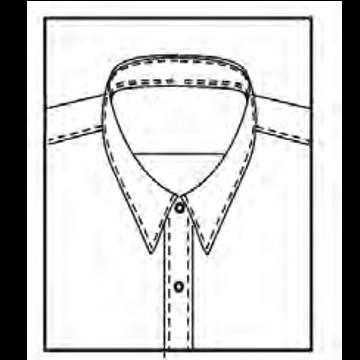 5AL1 - Schmaler Kragen, 5,6cm