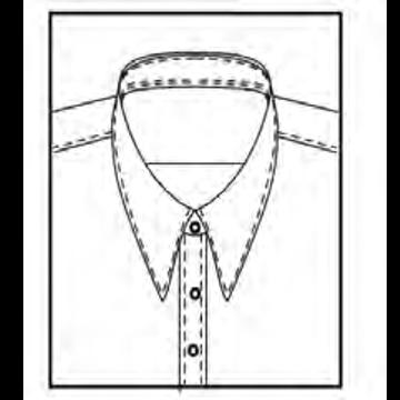 5AL3 - Schmaler Kragen 8,2cm