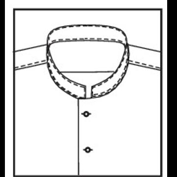 5L51 - Stehkragen ohne Schließknopf