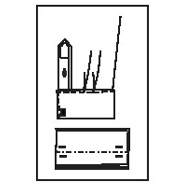 545D - gerdade französchische Umschlagmanschette