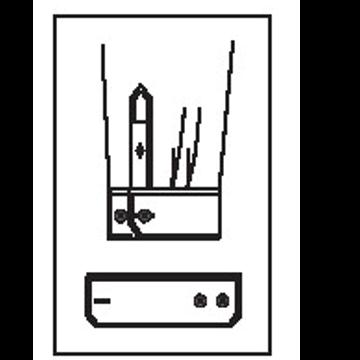 5431 - Verstellmanschette mit 2 Knöpfen & 1 Knopfloch