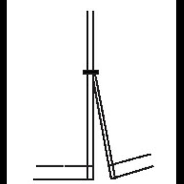 5131 - Gerader Saum mit Seitenschlitz